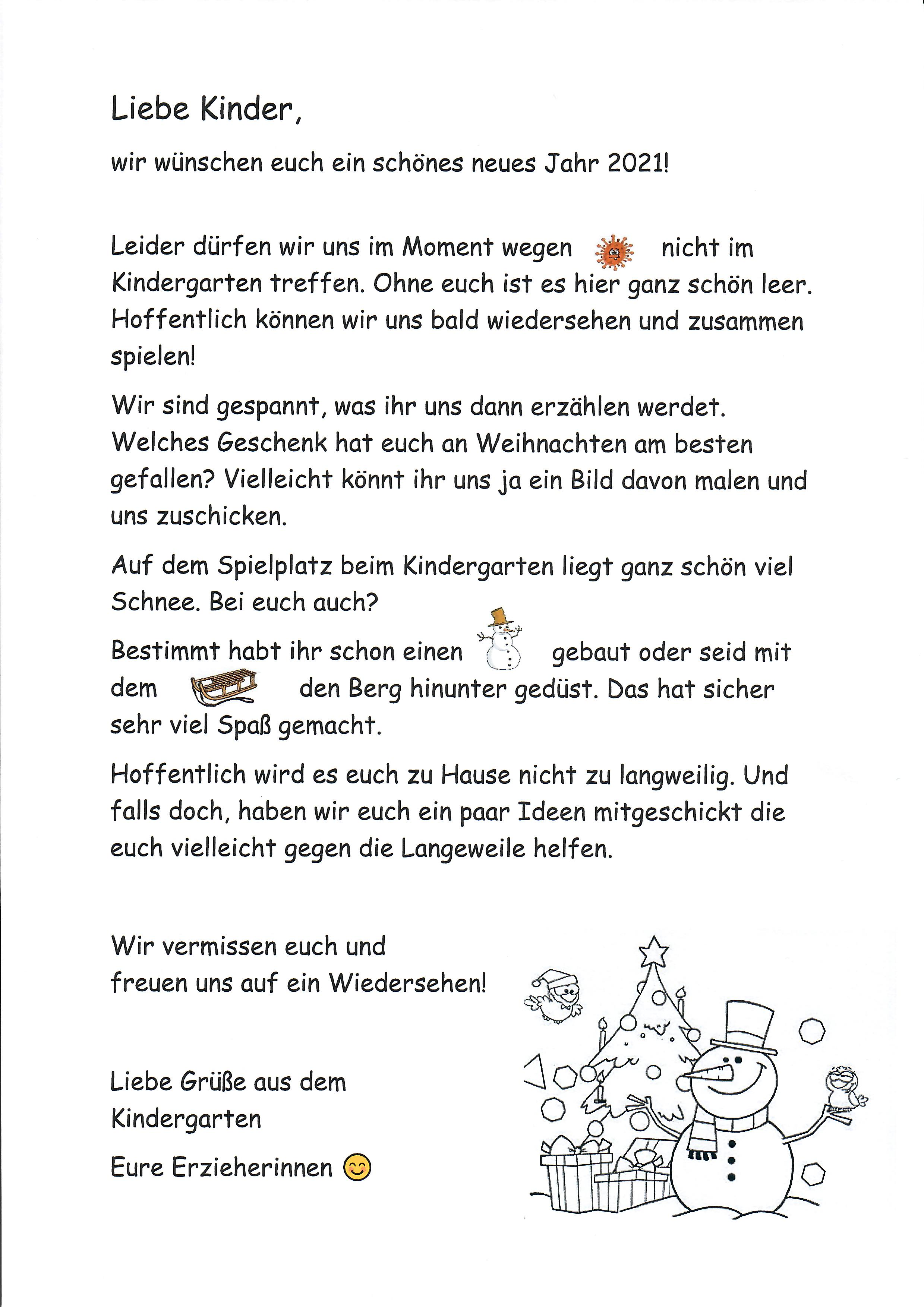 Brief kinder